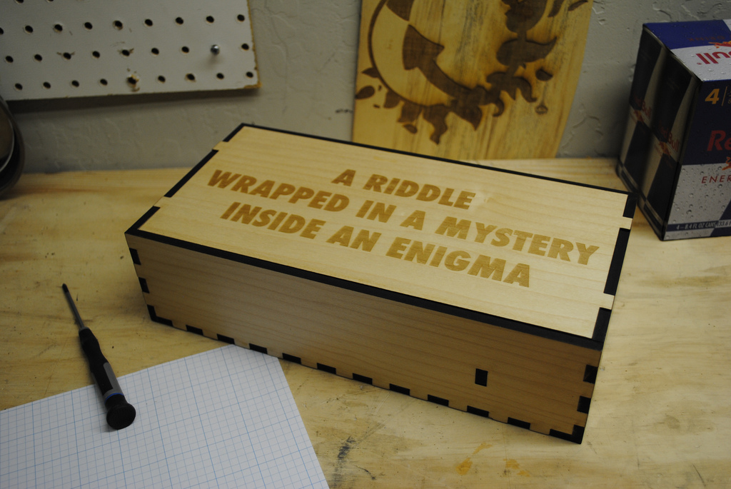 Mystery Puzzle Project Mystery Puzzle Box